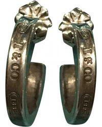 Tiffany & Co. - Tiffany 1837 Silver Silver Earrings - Lyst