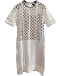 Louis Vuitton - Pre-owned Mid-length Dress - Lyst