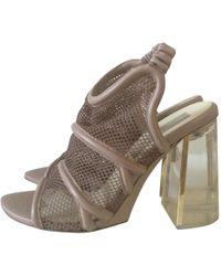58d6a92a578 Stella Mccartney Altea Faux-leather Block-heel Platform Sandals in ...