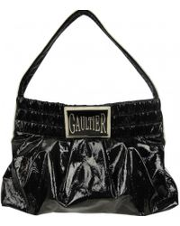 Jean Paul Gaultier - Pre-owned Vintage Black Patent Leather Handbag - Lyst