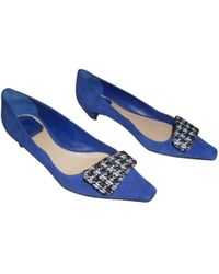 Dior   Pre-owned Ballet Flats   Lyst