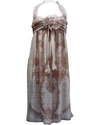 Chanel - Robe en soie - Lyst
