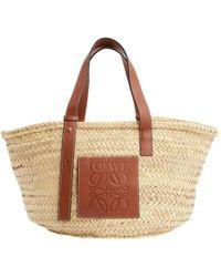 Loewe - Besace Basket Bag en cuir - Lyst
