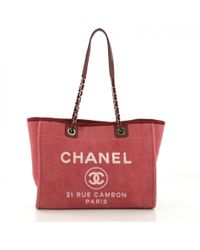 15ce7fcd624a Chanel 2018 Grey   White Canvas Large Iliad Deauville Shopping Tote ...