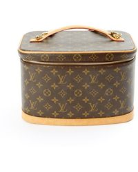 Louis Vuitton - Pre-owned Leather Vanity Case - Lyst