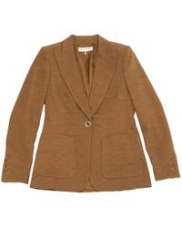 Emilio Pucci - Pre-owned Camel Viscose Jacket - Lyst