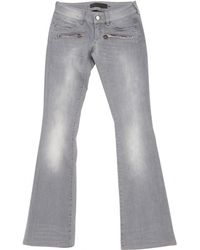 Barbara Bui - Grey Cotton Jeans - Lyst