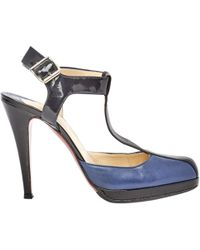 Pre-owned - Leather sandals Christian Louboutin p08pIvllyL
