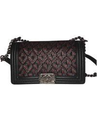 Chanel - Boy Leather Crossbody Bag - Lyst