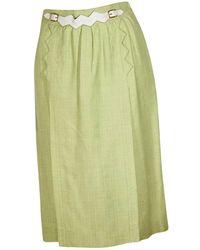 Hermès - Mid-length Skirt - Lyst