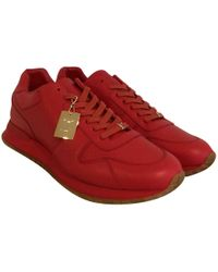 Louis Vuitton - Leather Low Trainers - Lyst