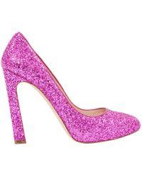 Miu Miu - Pre-owned Glitter Heels - Lyst