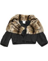 Dior - Wool Short Vest - Lyst
