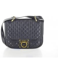 Ferragamo - Pre-owned Leather Clutch Bag - Lyst
