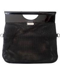 Jean Paul Gaultier - Vintage Black Patent Leather Handbag - Lyst