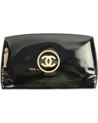 0301b9985841f6 Chanel Classic Small Wallet in Black - Lyst