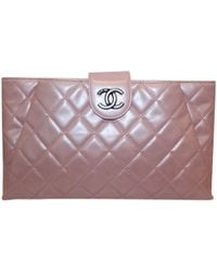 ee99bc9b5045 Lyst - Chanel Timeless Leather Bag in Red
