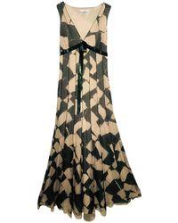 Carolina Herrera - Other Silk Dress - Lyst