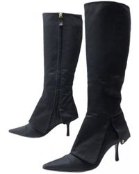 Chanel - Cloth Boots - Lyst