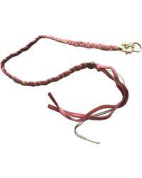 Maje - Leather Bracelet - Lyst