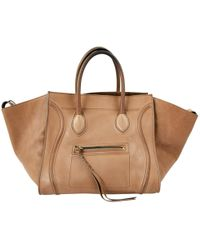 Céline | Pre-owned Luggage Leather Bag | Lyst