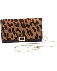 2e6c568ff8ac Roger Vivier - Pre-owned Pony-style Calfskin Clutch Bag - Lyst