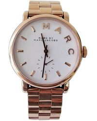 Marc By Marc Jacobs Gold Steel Watches - Metallic