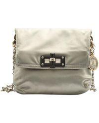 Lanvin - Grey Cloth Clutch Bag - Lyst