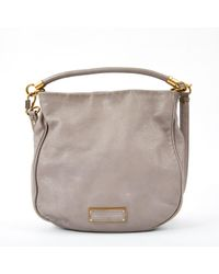 Marc By Marc Jacobs Gray Leather