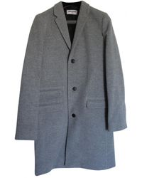 Zadig & Voltaire - Grey Wool Coat - Lyst