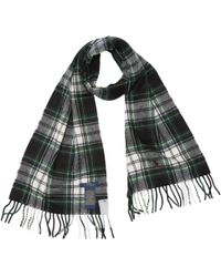 Lyst - Charpe ctele en laine mrinos avec logo joueur de polo Polo ... 62732d5154f