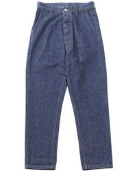 Moncler - Pre-owned Blue Denim - Jeans Trousers - Lyst