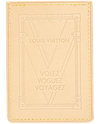 Louis Vuitton - Leather Card Wallet - Lyst