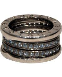 BVLGARI - B.zero1 Other White Gold Ring - Lyst