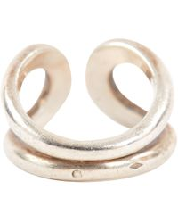 Hermès - Lima Silver Silver Ring - Lyst