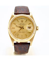Rolex - Day Date 36mm Yellow Gold Watch - Lyst