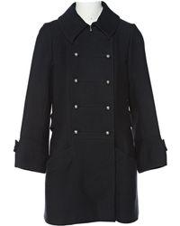 Chloé - Pre-owned Wool Coat - Lyst