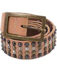 Zadig & Voltaire - Pre-owned Leather Belt - Lyst