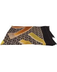 Fendi - Brown Silk - Lyst