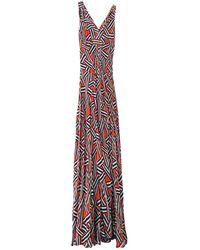 Diane von Furstenberg Robe en Soie Multicolore