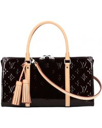 Louis Vuitton - Triangle Patent Leather Handbag - Lyst