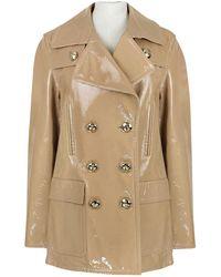 Emilio Pucci - Leather Coat - Lyst
