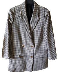 The Kooples - Beige Cotton Jacket - Lyst