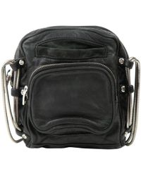 Alexander Wang - Black Leather Clutch Bag - Lyst