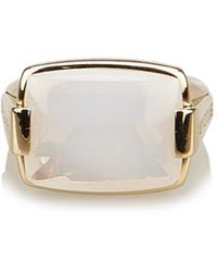 BVLGARI - Yellow Gold Ring - Lyst