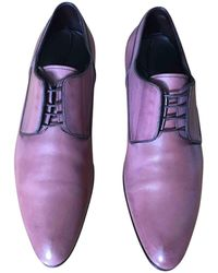 Louis Vuitton - Leather Derbies - Lyst