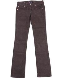 Vanessa Bruno - Brown Cotton Jeans - Lyst