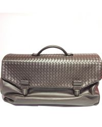 Bottega Veneta - Leather Travel Bag - Lyst