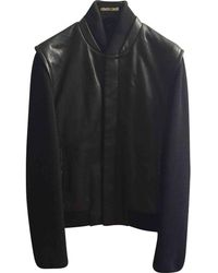 Roberto Cavalli - Pre-owned Black Leather Jackets - Lyst