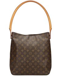 Louis Vuitton - Pre-owned Looping Cloth Tote - Lyst